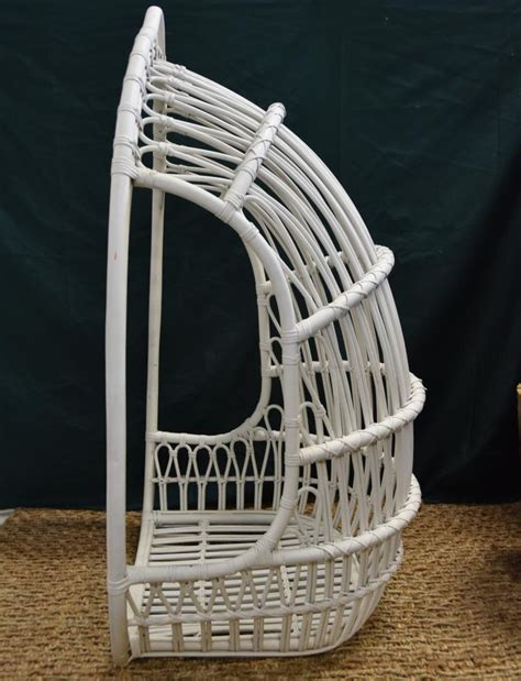 Rattan Basket Chair Hanging Wicker Basket Chair