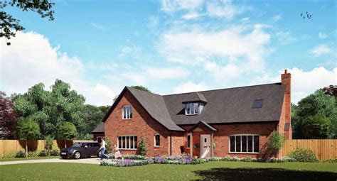 Chalet Bungalow Plans by Self Build Timber Frame House Designs Range Timber