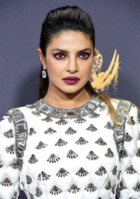 priyanka chopra at emmy 2017 emmy awards 2017 priyanka chopra red carpet pics