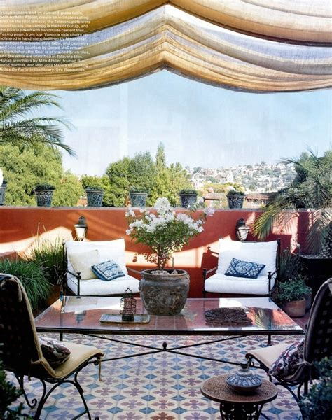 Moroccan Patio Ideas by 55 Charming Morocco Style Patio Designs Digsdigs