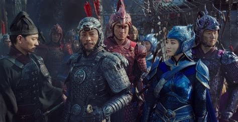 film china wall the great wall movie review