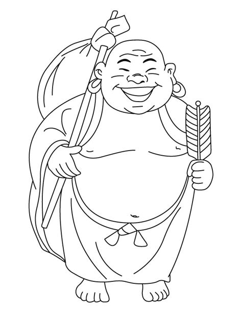 free coloring pages of animals of the buddha