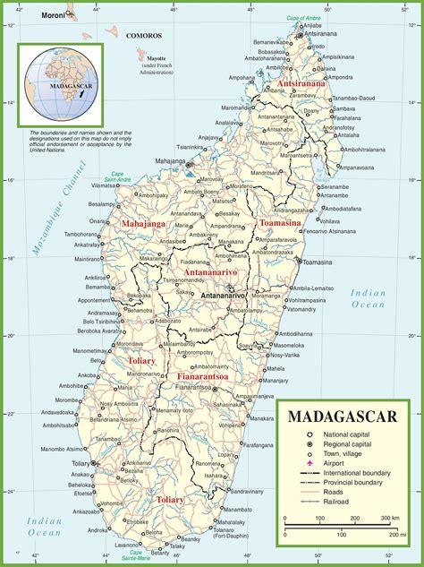 political map of madagascar madagascar map geography of madagascar map of madagascar