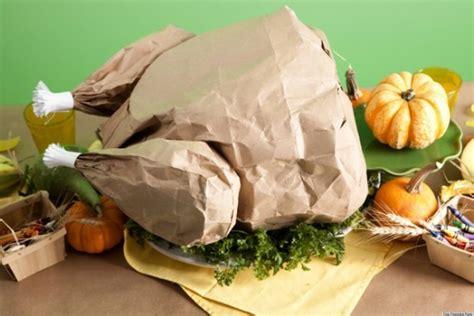 thanksgiving crafts create  paper bag turkey filled