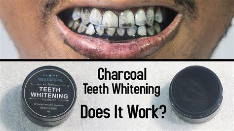 charcoal teeth whitening   work youtube