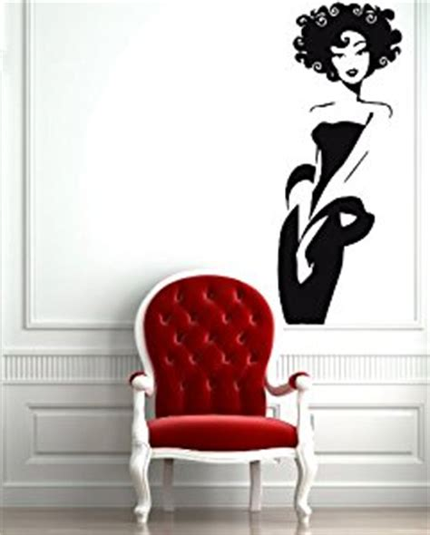 bedroom decals for adults amazon com hot sexy girl woman hair beauty salon mural