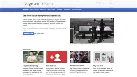 tutorial youtube adsense how to setup google adsense from the beginning to end