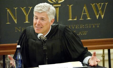 Gorsuch will be sworn in as the newest Supreme Court ... Judge Neil Gorsuch