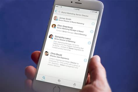 Lookup App Iphone Linkedin S New Lookup App Connects You To Your Coworkers Itworld