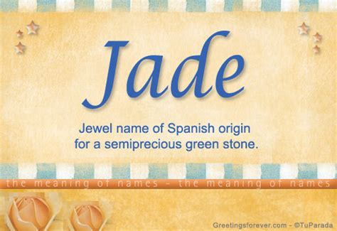 jade name meaning jade name origin name jade meaning of the name jade baby name jade