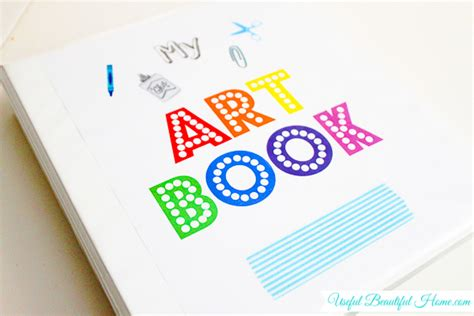 how to design your art book organizing artwork