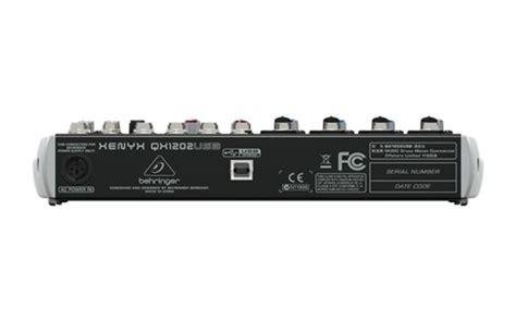 Mixer Behringer Qx1202usb behringer xenyx qx1202usb usb audio mixer