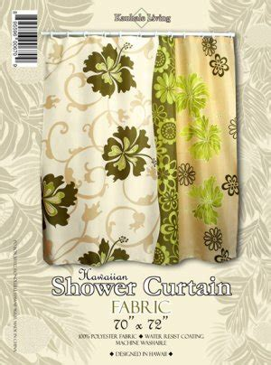 hawaiian curtain fabric shower curtains hawaiian fa123456fa