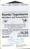 Britzer Garten Dauerkarte by Mustersammlung Kombikarten F 252 R Den Berliner Nahverkehr