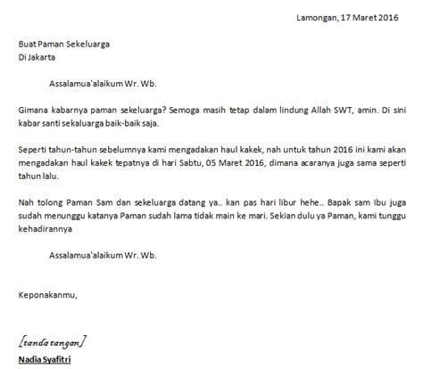 contoh surat tidak resmi surat resmi dan perbedaannya
