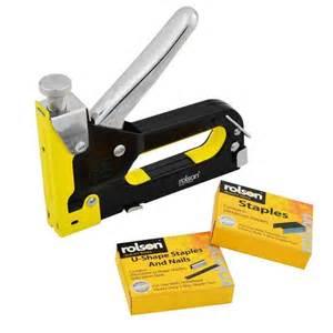 heavy duty staple gun 3 in 1 stapler tacker with staples