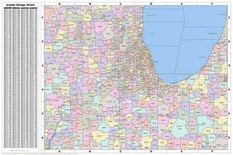 chicago map with zip codes search the maptechnica printable map catalog maptechnica
