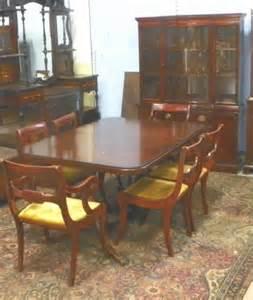Antique Dining Room Furniture 1930 2132 Drexel Mahogany Dining Room Set Ca 1930 S Lot 2132