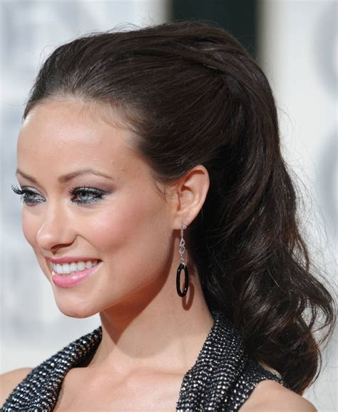 ponytail pageant hair golden globes 2010 red carpet beauty formal hairstyles