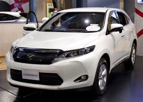 Toyota Harrier 2013 File 2013 Toyota Harrier 01 Jpg Wikimedia Commons