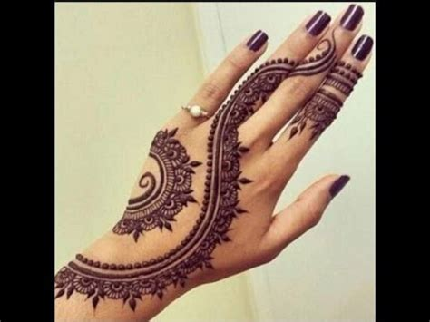 beautiful simple mehndi designs for hands 2017 simple
