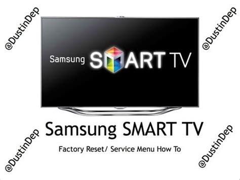 factory reset tv samsung samsung service menu code to factory reset tv how to