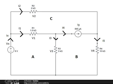 capacitors kirchoff s kirchhoff s loop equation when there s a current source in it electrical engineering stack