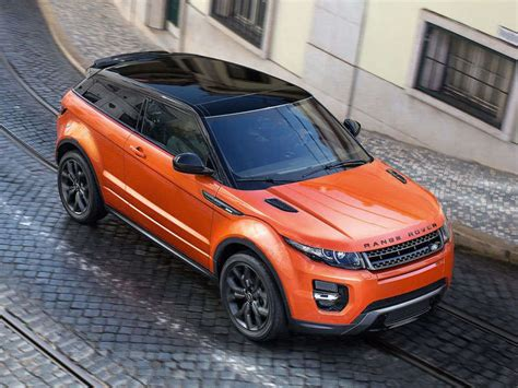 orange range rover evoque 2015 land rover range rover evoque preview 2014 geneva