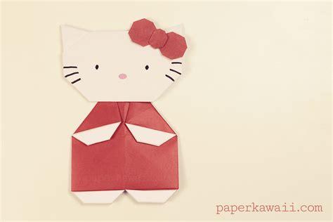 Origami Hello - origami hello tutorial paper kawaii