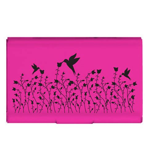 Pink Credit Card Digital by Pink Flip Card Holder In Wallets And Credit Card Holders