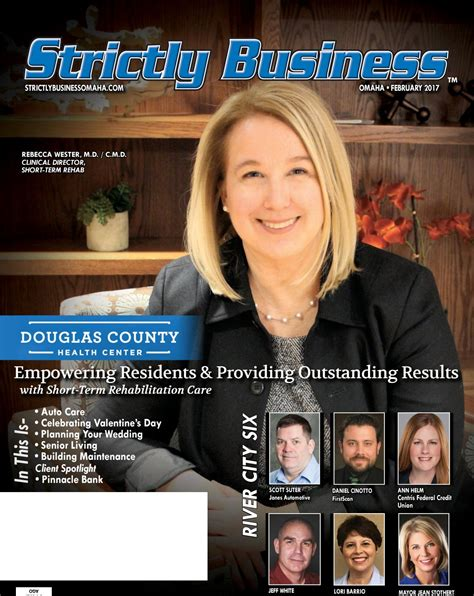 Douglas County Detox Omaha by Strictly Business Omaha February 2017 By Strictly Business