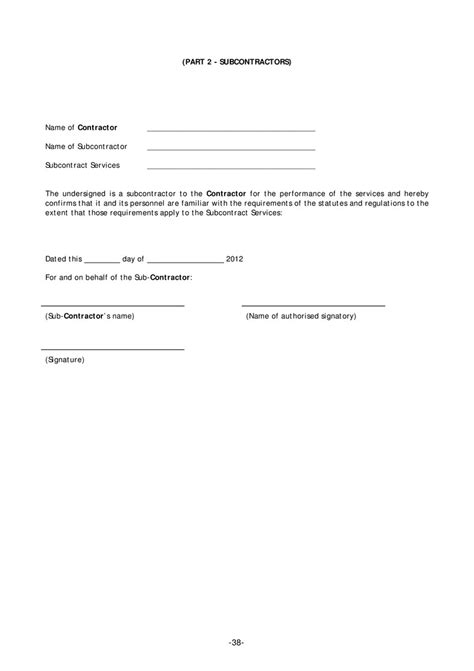 Template For Independent Contractor Agreement page 40