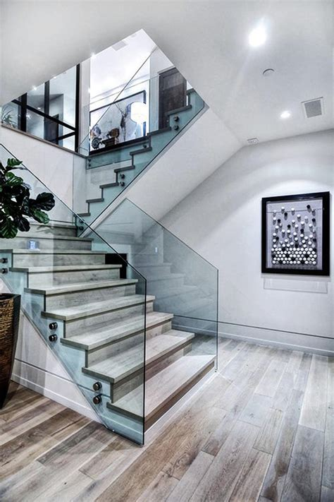 Modern Glass Stairs Design 20 Modern And Minimalist Staircase Designs Home Design And Interior