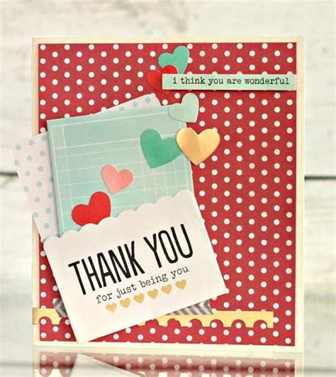 Handmade Cards Thank You - handmade thank you cards pebbles inc