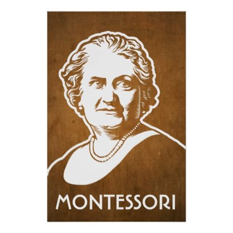 printable picture maria montessori maria montessori print zazzle
