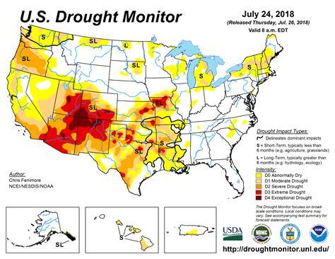 map us drought mesonet u s drought monitor map