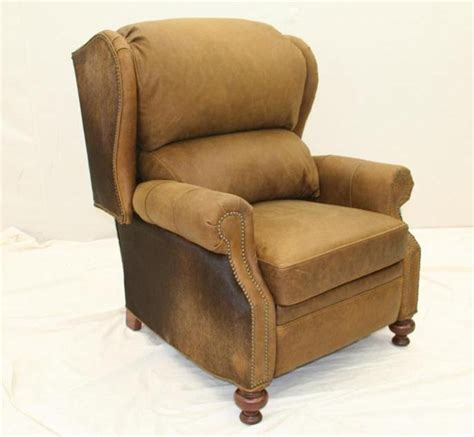 stylish recliner cool western style furniture recliner
