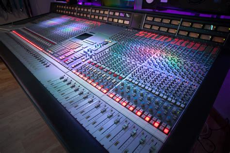 Ssl 4000g Mixing Console Now At Alive Network Recording Home Studio Mixing Desk