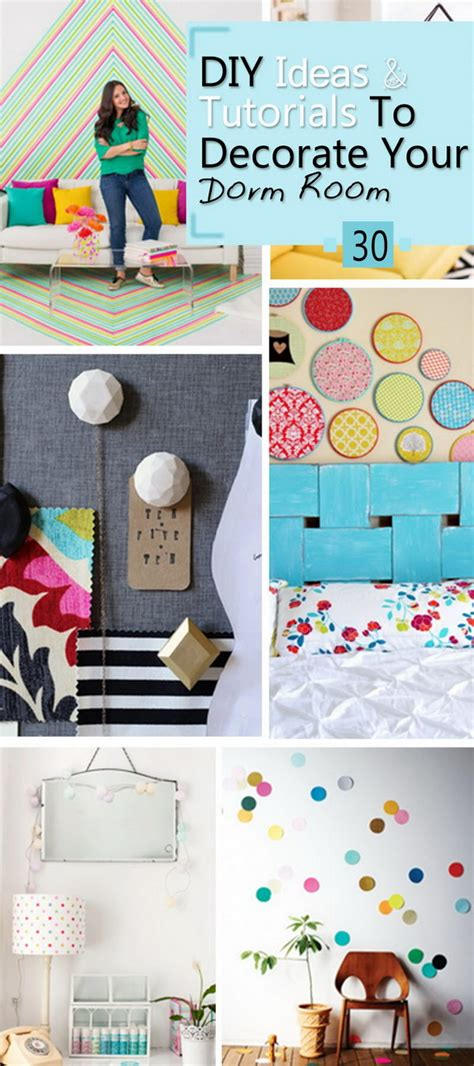 diy ways to decorate your room 30 diy ideas tutorials to decorate your room noted list