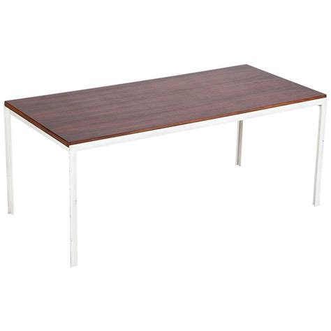 Florence Knoll Coffee Table Florence Knoll Coffee Table Rosewood T Angle Iron 1956 For Sale At 1stdibs