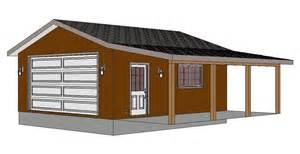 24 x 26 garage plans