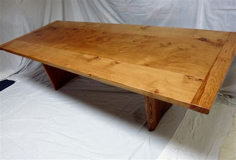 Handmade Oak Table - pippy oak handmade table for sale sold quercus furniture