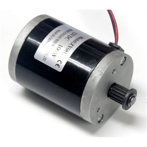 dc 12v 100w 2750 rpm electric motor belt drive motor