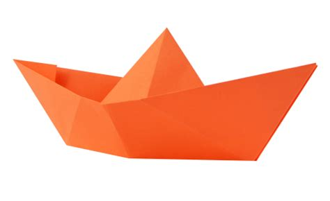 Transparent Origami Paper - paper boat png transparent image pngpix