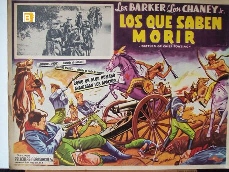 libro los tercios saben morir quot los que saben morir quot movie poster quot battles of chief pontiac quot movie poster