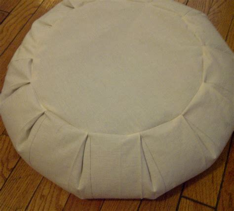 sewing pattern for zafu cushion make your own zafu meditation pillow 4