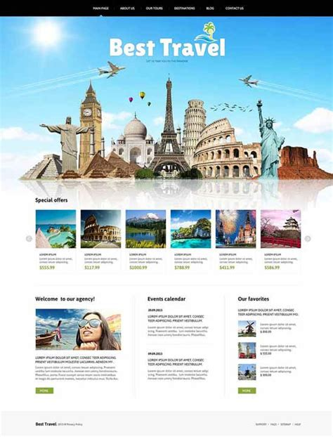 tour design template 30 best travel joomla templates 2018 freshdesignweb