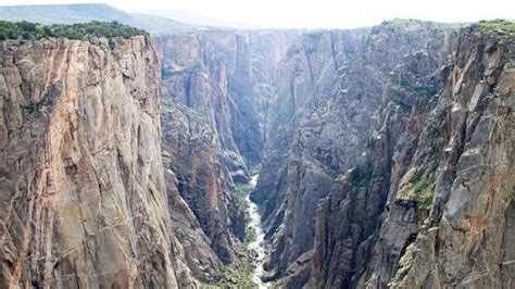 weekend escape  colorados deep steep black canyon   gunnison la times