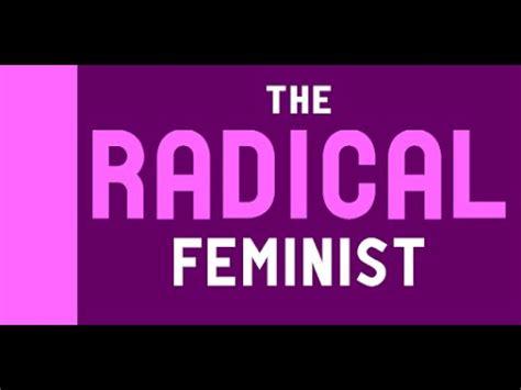 libro radical feminism feminist activism radical feminism youtube