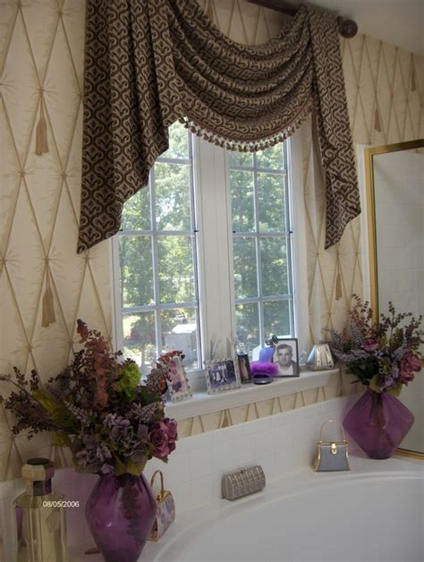 Purple Bathroom Window Curtains Master Bathroom Window Treatment For The Future Home Pinterest The Purple Window And